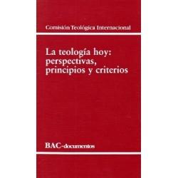 La teología hoy: perspectivas, principios y criterios