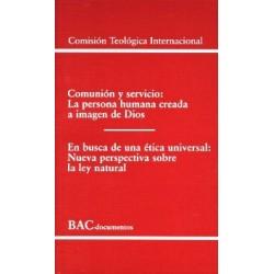 Comunión y servicio. En busca de una ética universal