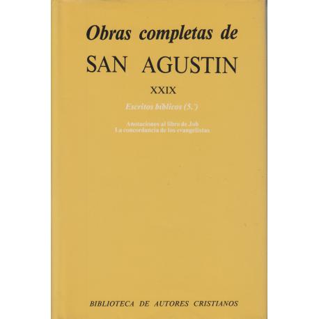Obras completas de San Agustín. XXIX: Escritos bíblicos (5.º)