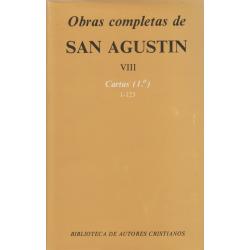 Obras completas de San Agustín. VIII: Cartas (1.º): 1-123