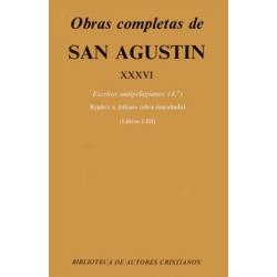 Obras completas de San Agustín. XXXVI: Escritos antipelagianos (4.º): Réplica a Juliano (Libros I-III)