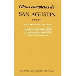 Obras completas de San Agustín. XXXVIII: Escritos antiarrianos y otros herejes