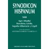 Synodicon Hispanum. XIII: Ager (Abadía), Barcelona, Lérida, Segorbe-Albarracín y Urgell