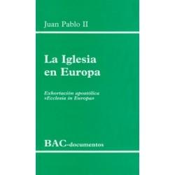 """La Iglesia en Europa. Exhortación apostólica """"Ecclesia in Europa"""""""