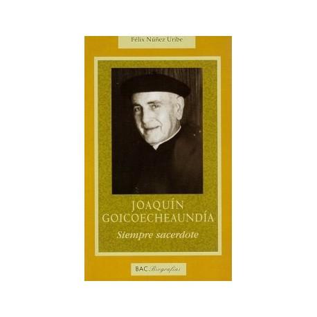 Joaquín Goicoecheaundía. Siempre sacerdote