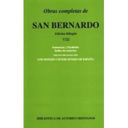 Obras completas de San Bernardo. VIII: Sentencias y Parábolas. Índice de materias