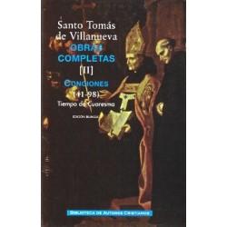 Obras completas de Santo Tomás de Villanueva. II: Conciones 41-98. Tiempo de Cuaresma