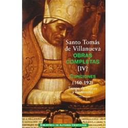Obras completas de Santo Tomás de Villanueva. IV: Conciones 160-192. Tiempo de Pascua y Pentecostés