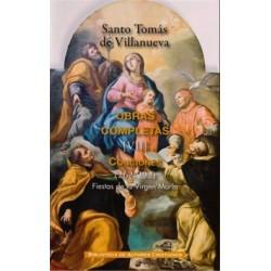 Obras completas de Santo Tomás de Villanueva. VII: Conciones 262-292. Fiestas de la Virgen María