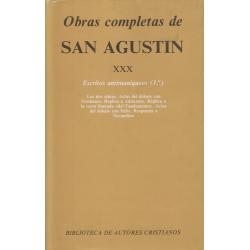 Obras completas de San Agustín. XXX: Escritos antimaniqueos (1.º)