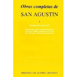 Obras completas de San Agustín. I: Escritos filosóficos (1.º)