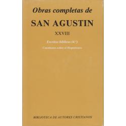 Obras completas de San Agustín. XXVIII: Escritos bíblicos (4.º)