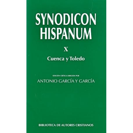 Synodicon Hispanum. X: Cuenca y Toledo