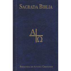 Sagrada Biblia. Versión directa de las lenguas originales (Ed. popular)