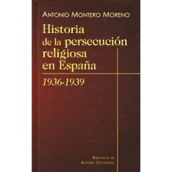 Historia de la persecución religiosa en España (1936-1939)